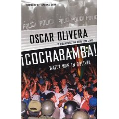 cochabamba protest poster