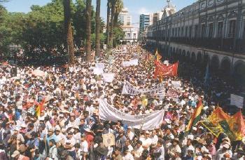 cochabamba protest