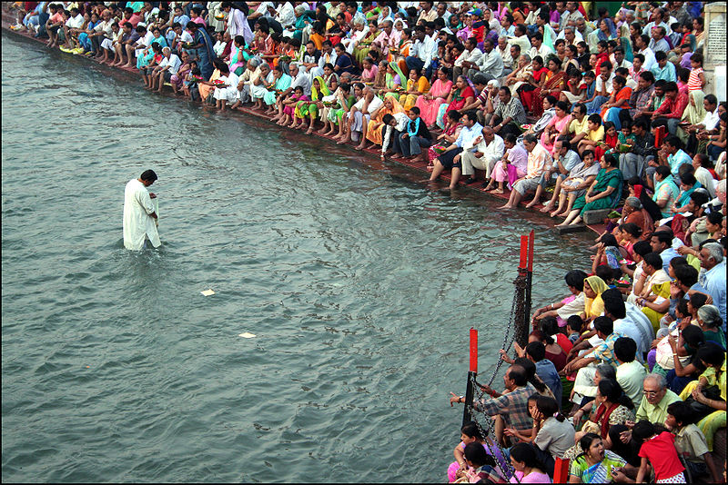 Why Ganga River is considered pure and holy in India?