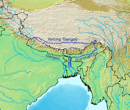 The Brahmaputra River…China, India and Bangladesh: The Dragon is at